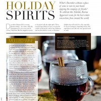 Holiday Spirits – Mulled wine, Buttered rum & Eggnog