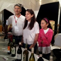Vishal & Ashu Kadakia at The Wine Park stall