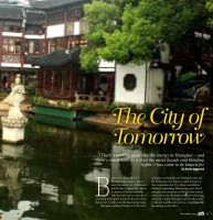 Shanghai: The City of Tomorrow