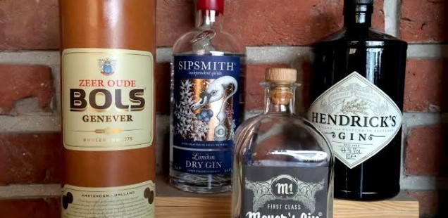 4 Gems on my Gin Shelf
