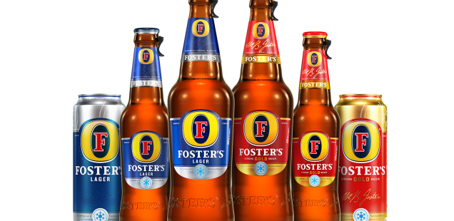 Foster's: In with the new