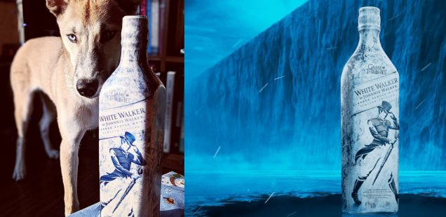 WHITE WALKER: Johnnie Walker X Game of Thrones whisky